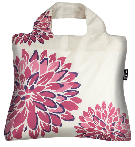 Envirosax Oriental Spice Reusable Shopping Bags (Set of 3), Peonies