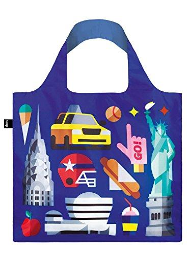 LOQI Hey Studio New York Reusable Shopping Bag