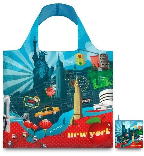 LOQI Urban New York Reusable Shopping Bag