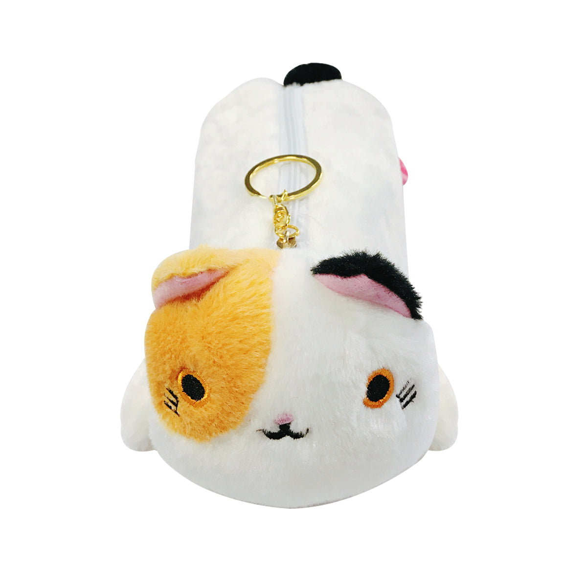 Wrapables Cute Cat Pouch Plush Pencil Case