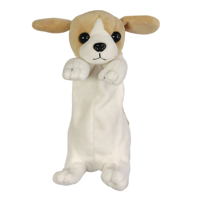 Wrapables Cute Puppy Pouch Plush Pencil Case