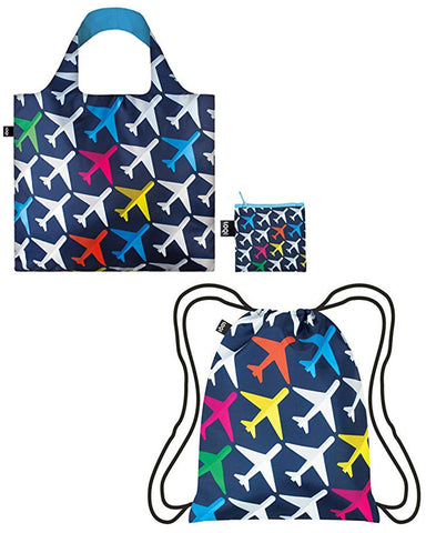 LOQI Alex Trochut New York Reusable Shopping Bag