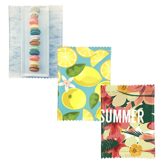 Wrapables Fun Foods Coin Pouch Mini Wallet (Set of 3), Summer Fun