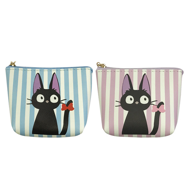 Wrapables Black Cat Coin Pouch Mini Wallet with Key Holder (Set of 2)
