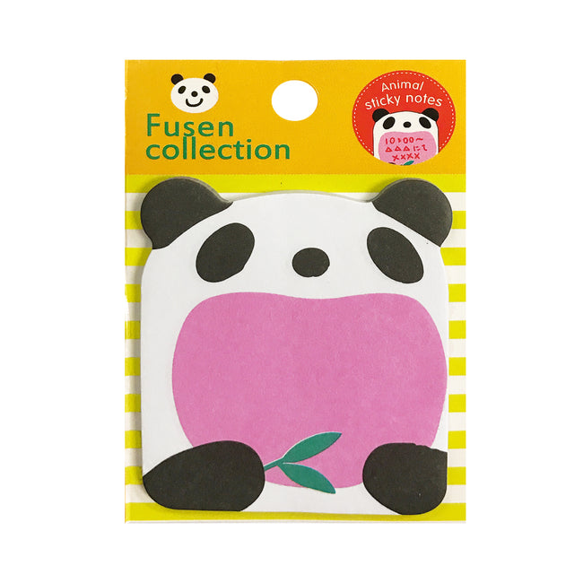 Wrapables Cheerful Panda and Cubs Bookmark and Memo Sticky Notes