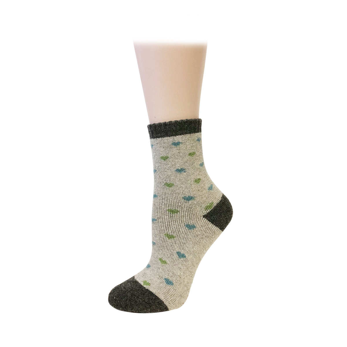 Wrapables® Women's Thick Winter Warm Wool Socks (Set of 5), Pastel