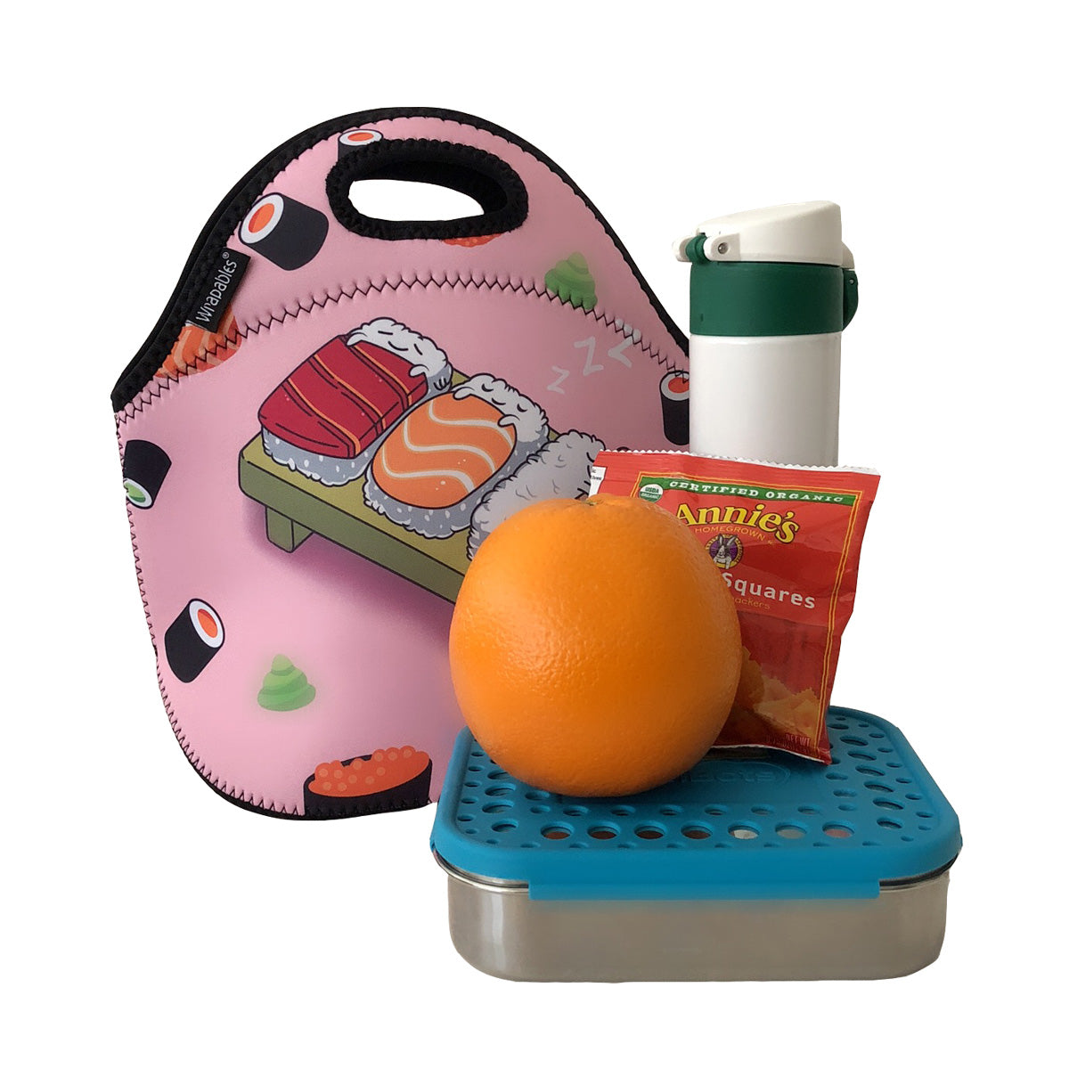 Wrapables® Insulated Neoprene Lunch Bag