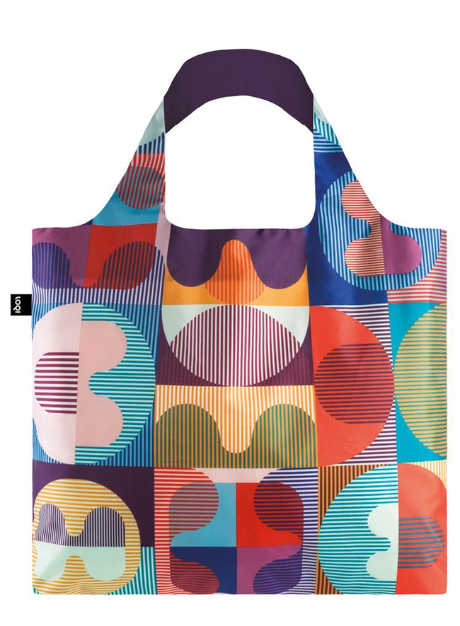 LOQI Hvass&Hannibal Grid Reusable Shopping Bag