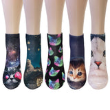 Wrapables® 3D Novelty Funny Ankle Socks