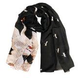 Wrapables® Silk Like Satin Polyester Large Scarf Wrap