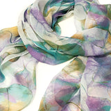 Wrapables® Lightweight Sheer Silky Feeling Chiffon Scarf