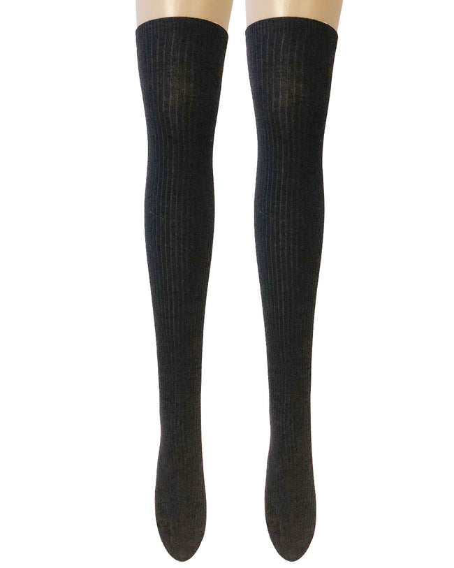 Wrapables® Women's Ribbed Knee High Boot Socks