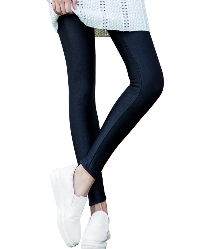 Wrapables® Women's Shimmery Fleece Lined Leggings