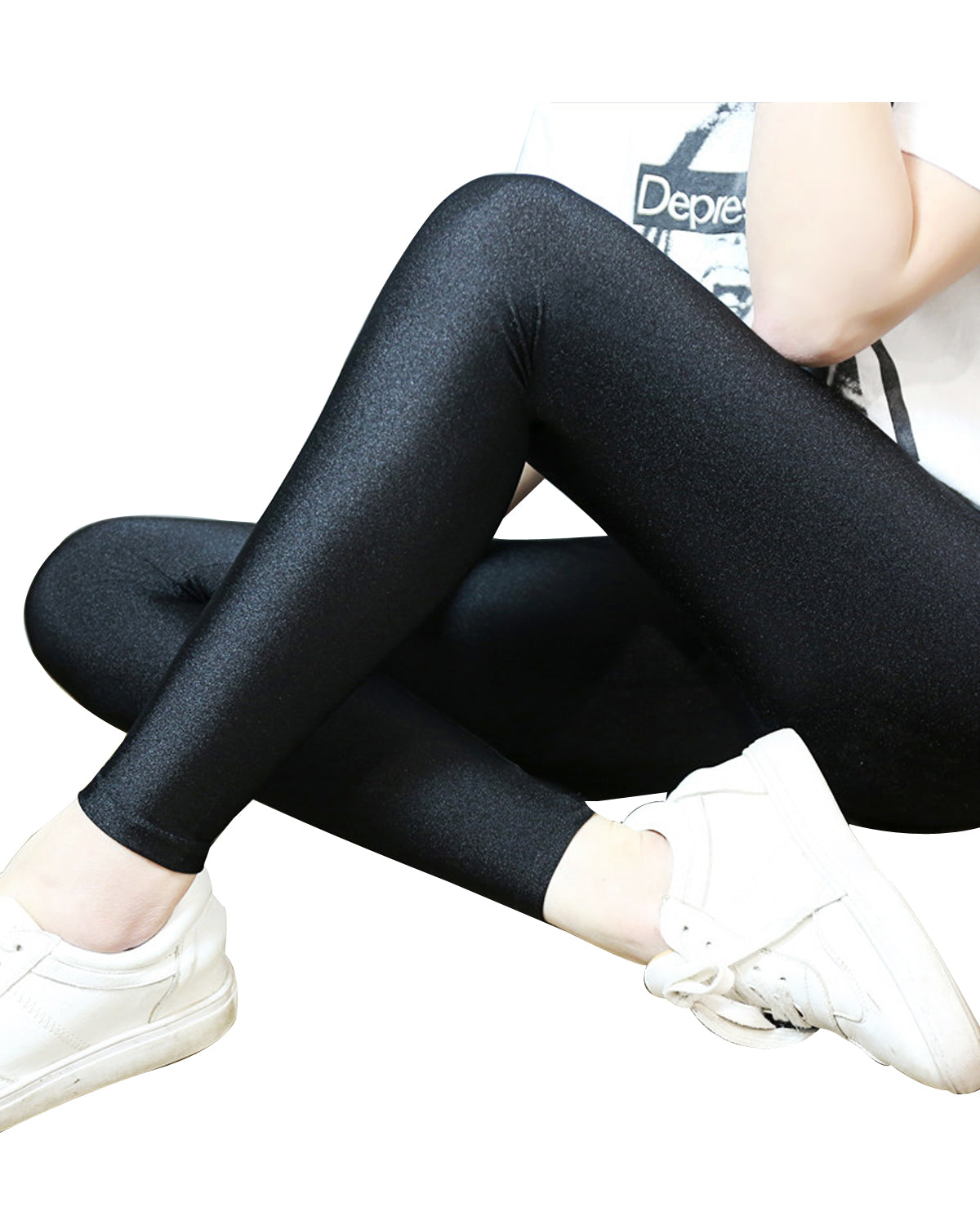 Wrapables® Women's Thin Stretch Leggings