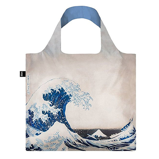 LOQI Art Lover Pocket, Hokusai Wave & Fuji