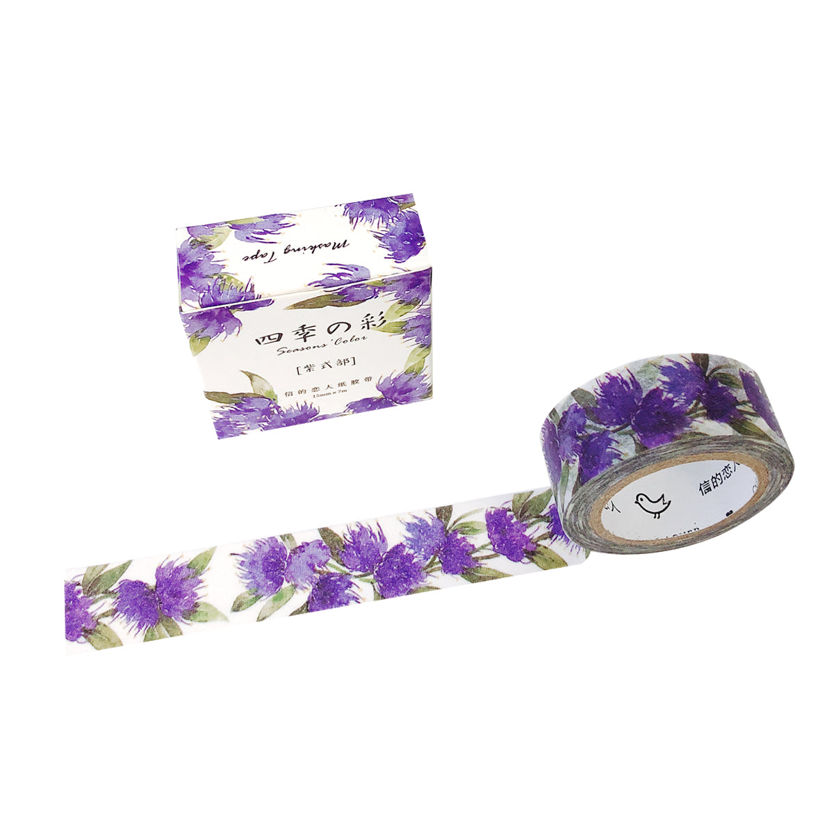 Wrapables® Flowers and Greens Washi Masking Tape