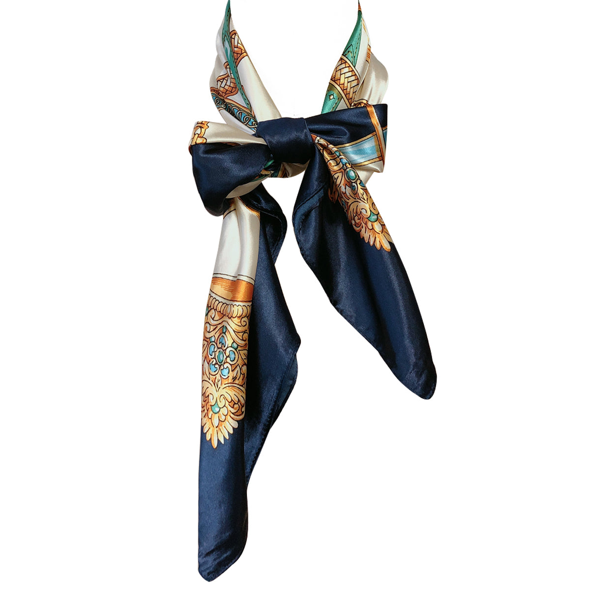 Wrapables® Silky Feeling Satin Square Scarf