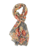 Wrapables® Lightweight Floral Spring Long Scarf Wrap Shawl