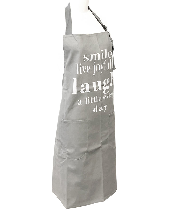 Wrapables® Laugh and Smile Unisex Apron