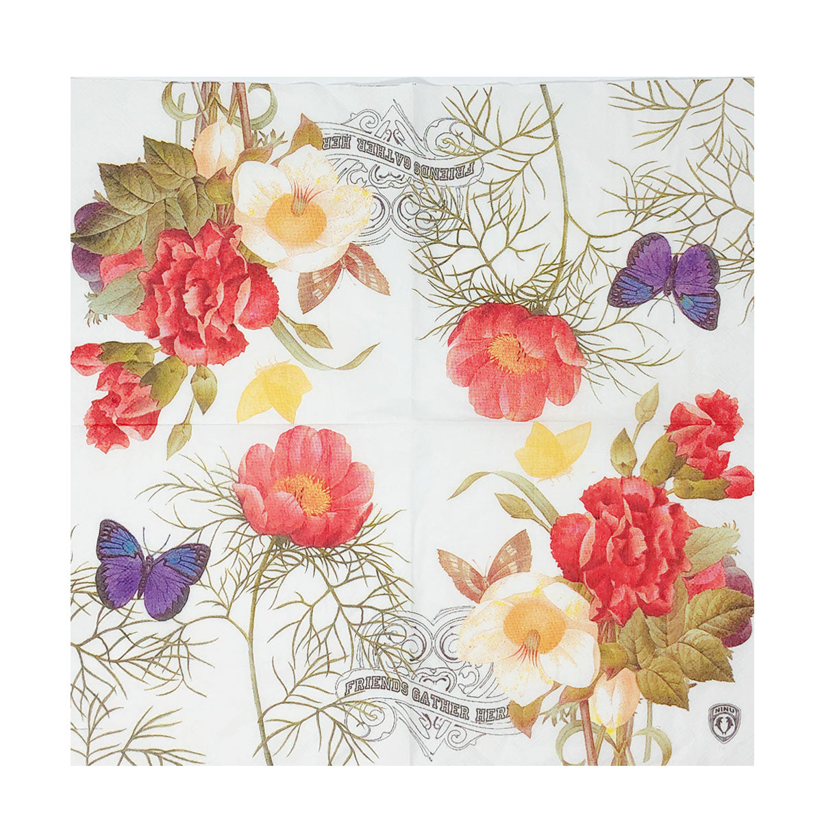 24.5x48.5- Avail Non-Laminated or Laminated Pattern Floral Fancy Wedding Wrap SET Your Pick 2 prints