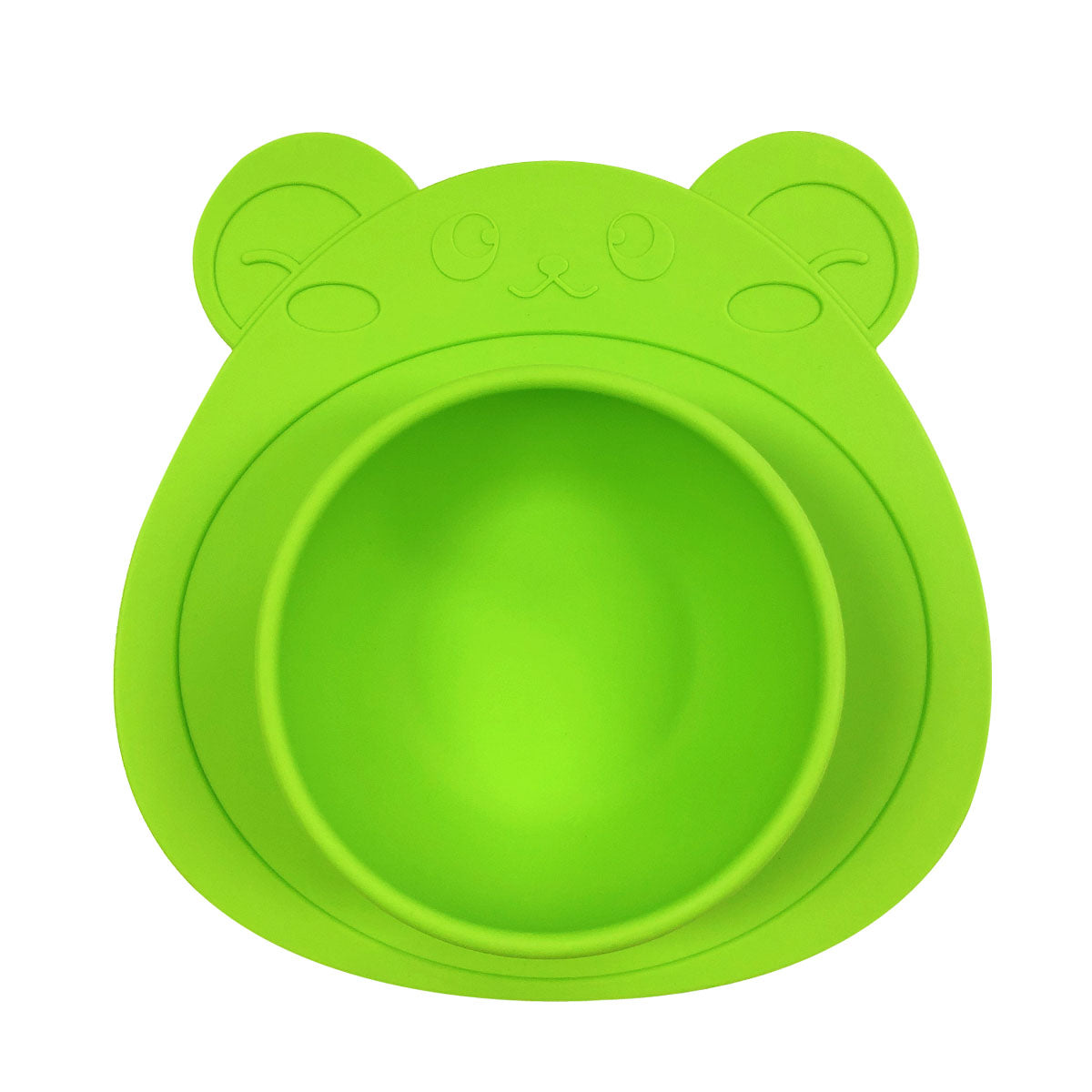 Wrapables® Silicone Placemat + Suction Food Bowl for Baby