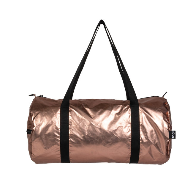 LOQI Metallic Matt Rose Gold Weekender