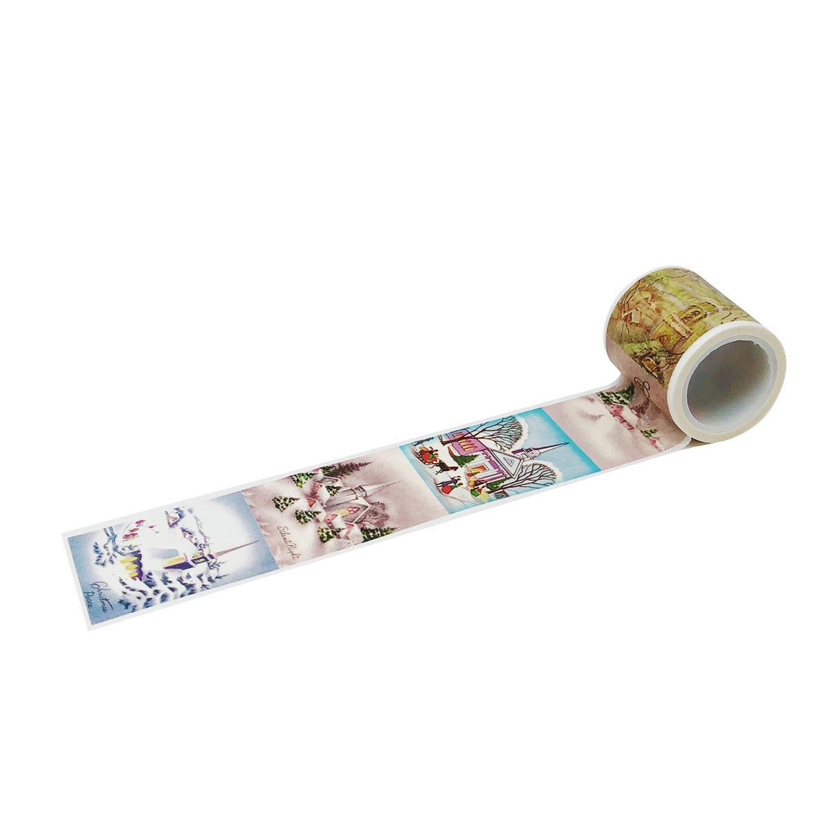 Wrapables® Decorative Festive Wide Washi Masking Tape