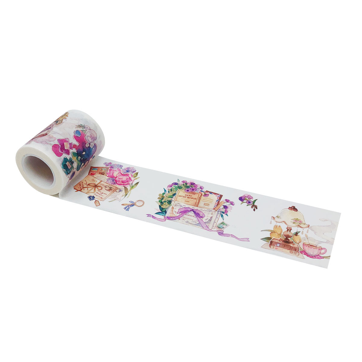Wrapables® Dreamy Artistic Wide Washi Masking Tape, 55mm x 10m