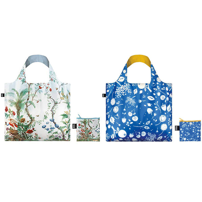 dc5720c8f587 LOQI Museum and Seed Reusable Shopping Bags (Set of 2)