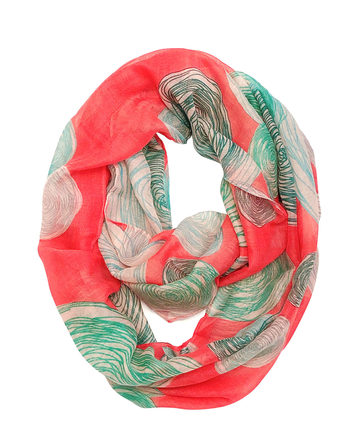 Wrapables Lightweight Fashion Trendy Infinity Scarf
