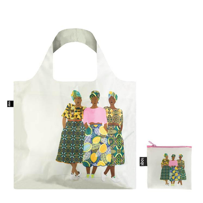 LOQI Artist Celeste Wallaert Grlz Band Reusable Shopping Bag