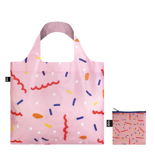 LOQI Artist Celeste Wallaert Confetti Reusable Shopping Bag