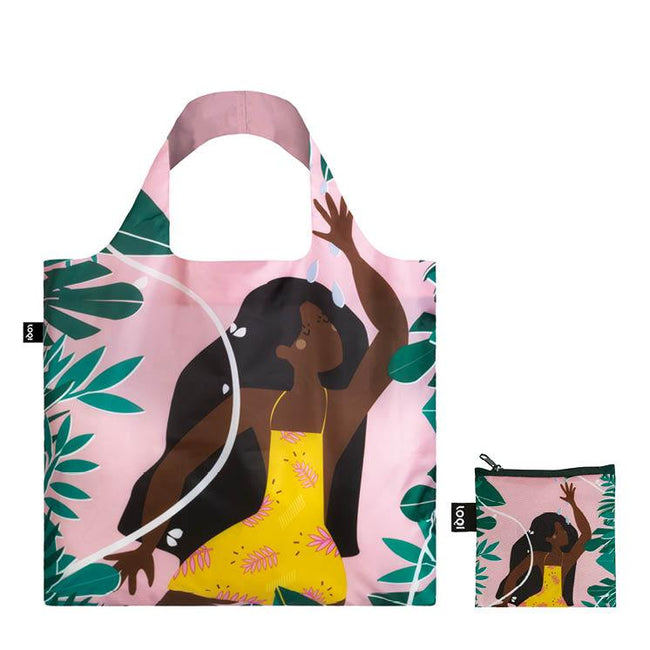 LOQI Artist Celeste Wallaert Joyful and Free Reusable Shopping Bag