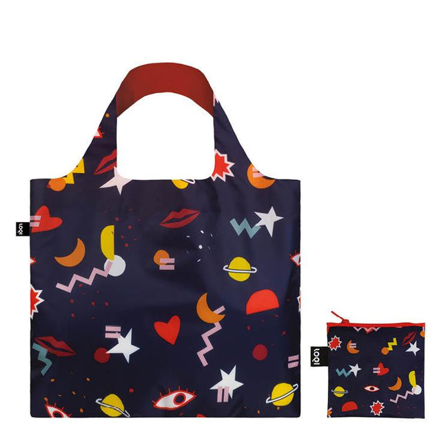 LOQI Artist Celeste Wallaert Night Night Reusable Shopping Bag