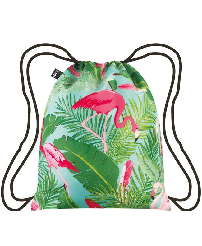 LOQI WILD Flamingos Backpack