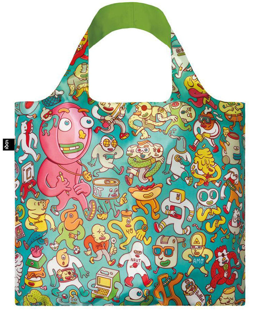 LOQI BROSMIND Folks Reusable Shopping Bag