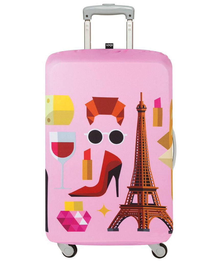LOQI HEY STUDIO Paris Luggage Cover M