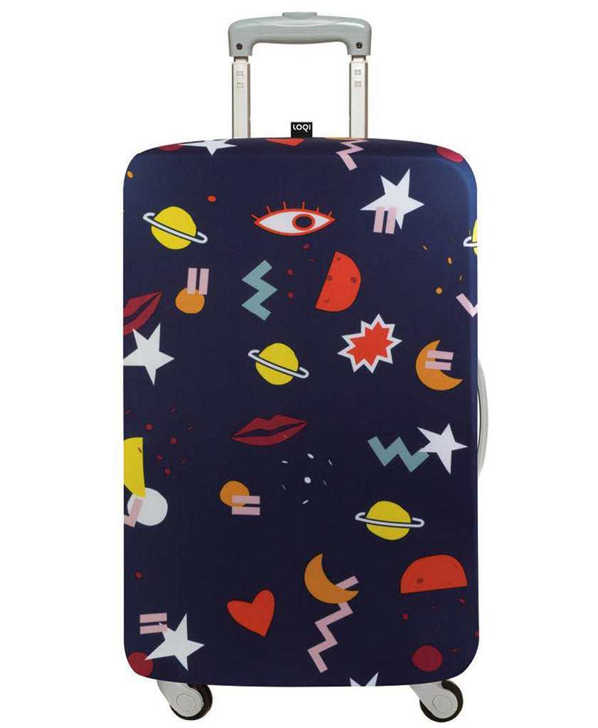 LOQI Artists CELESTE WALLAERT Night Night Luggage Cover M
