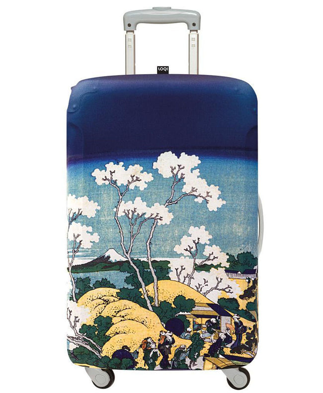 LOQI Museum HOKUSAI's Fuji from Gotenyama Luggage Cover M