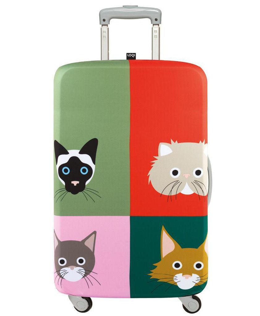 LOQI Artists STEPHEN CHEETHAM Cats Luggage Cover M
