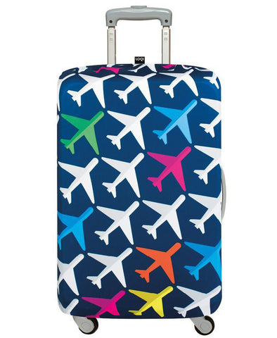 LOQI TRAVEL Stars & Stripes Luggage Cover M
