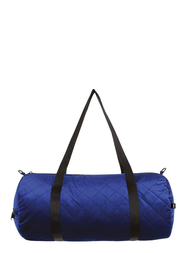 LOQI QUILTED Betty Blue Weekender
