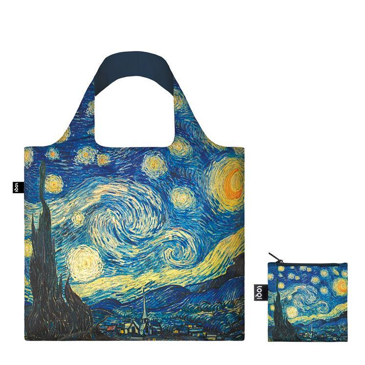 LOQI Museum Famous Artwork Reusable Bags (Set of 3)