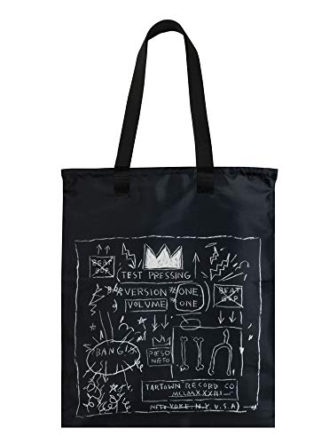LOQI Museum Jean Michel Basquiat's Crown & Skull Duo Backpack