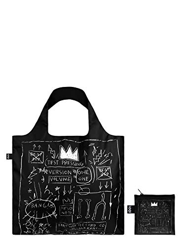 LOQI Museum Jean Michel Basquiat's Crown Reusable Shopping Bag