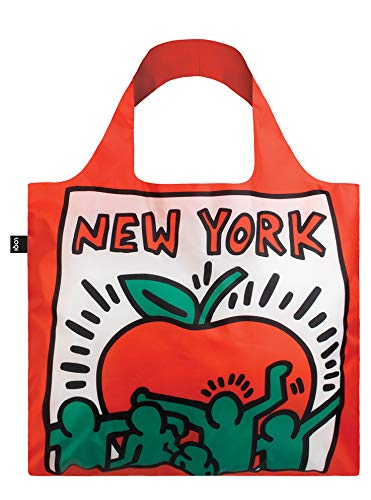 LOQI Museum Keith Haring's New York Reusable Shopping Bag