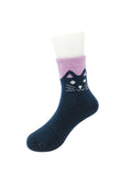 Wrapables Children's Thick Winter Warm Wool Socks (Set of 6)