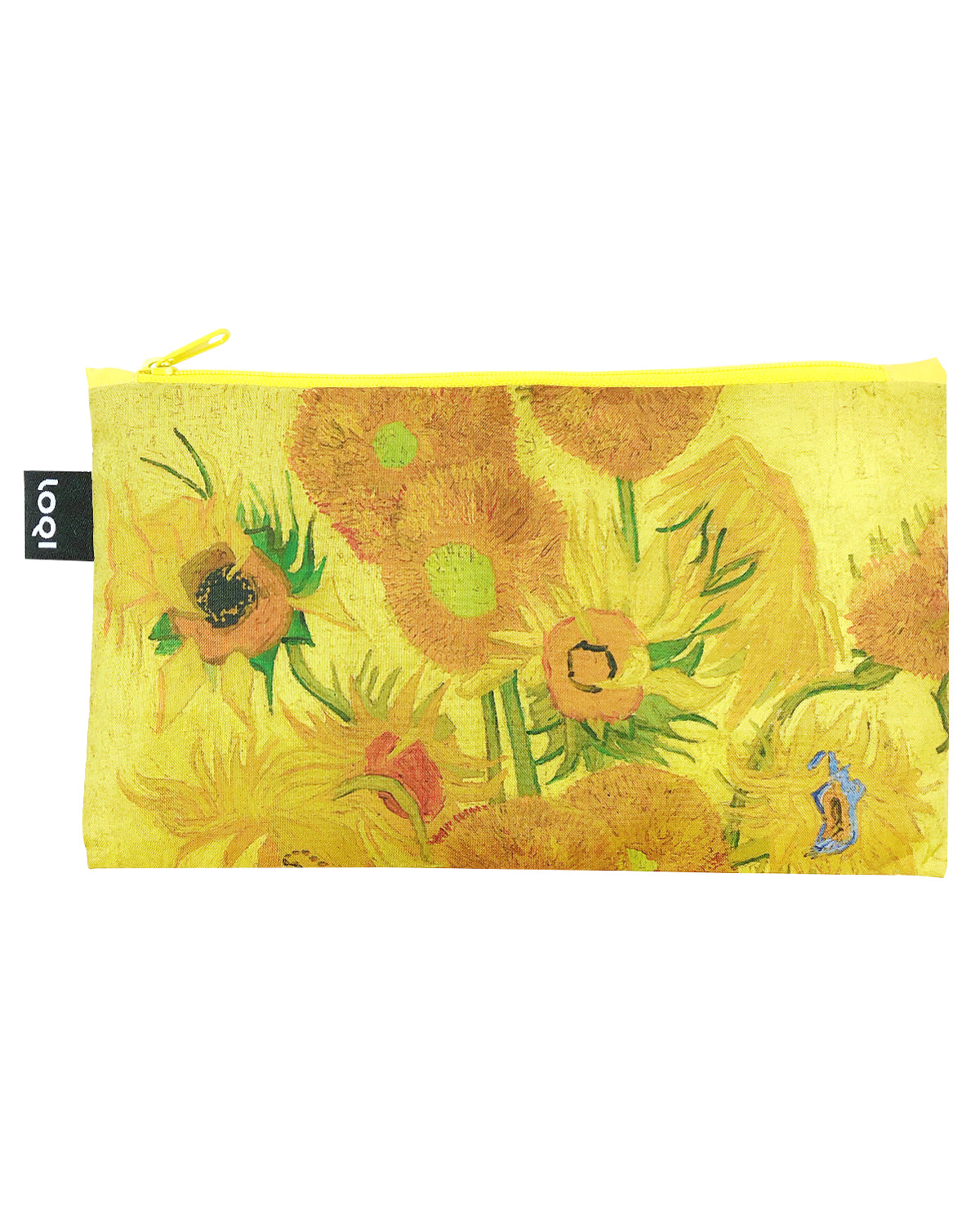 LOQI Museum Zip Pockets (Set of 5) Irisches Gedicht, Composition, Chinese Décor, Water Lilies, Sunflowers