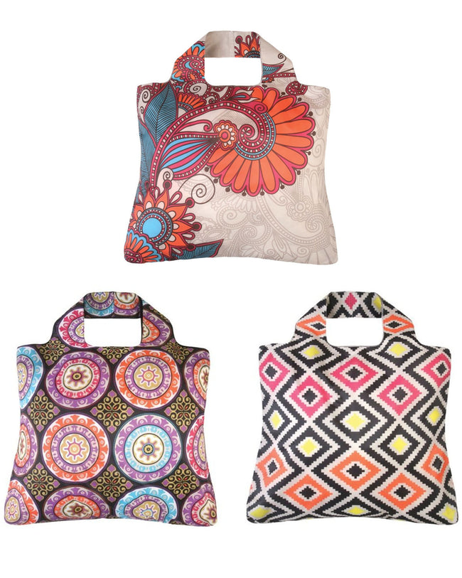 Envirosax Rolling Stone Reusable Bags, (Set of 3)