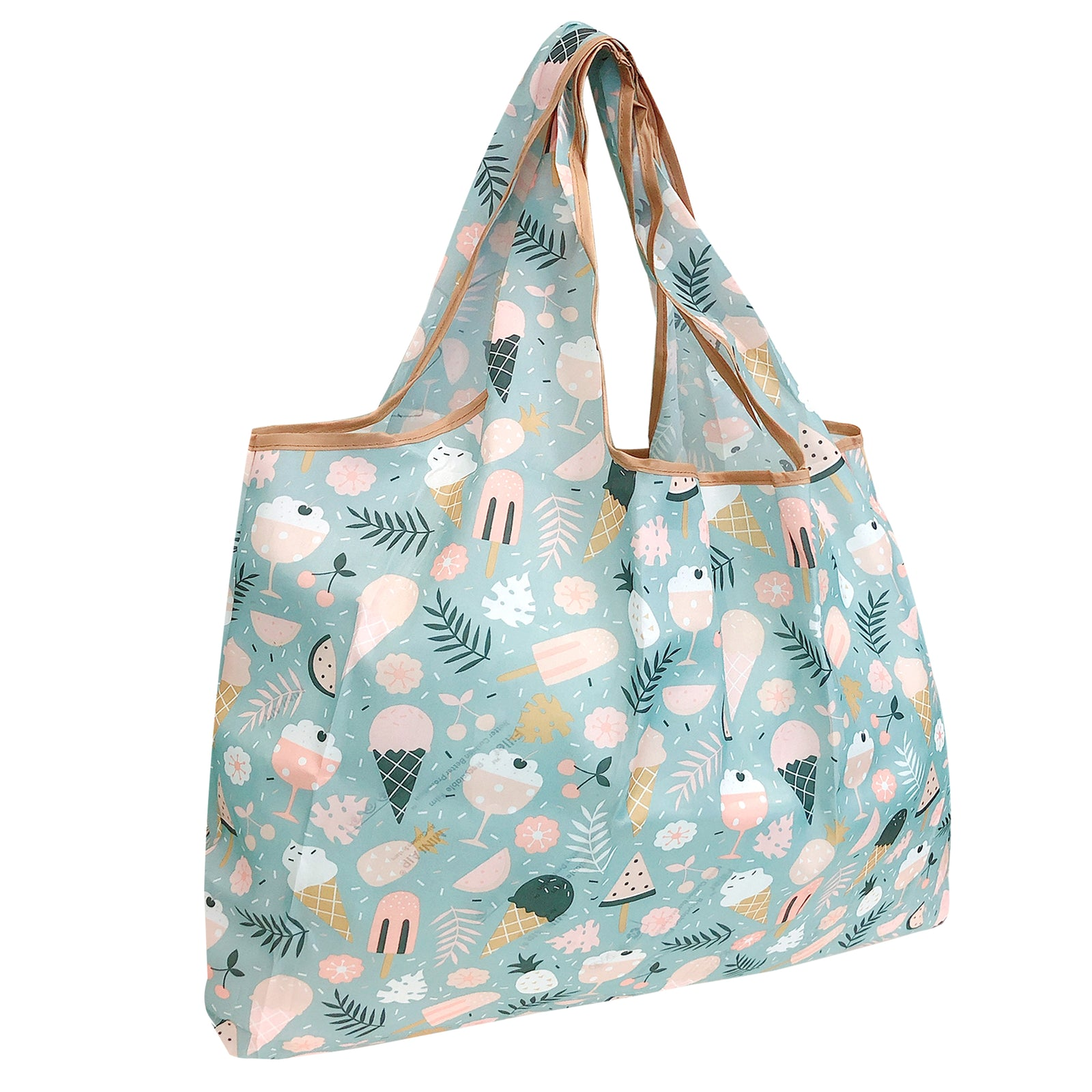 Wrapables Eco-Friendly Large Nylon Reusable Shopping Bag